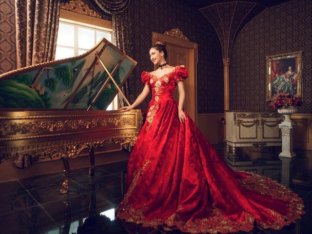 茜茜公主婚纱摄影